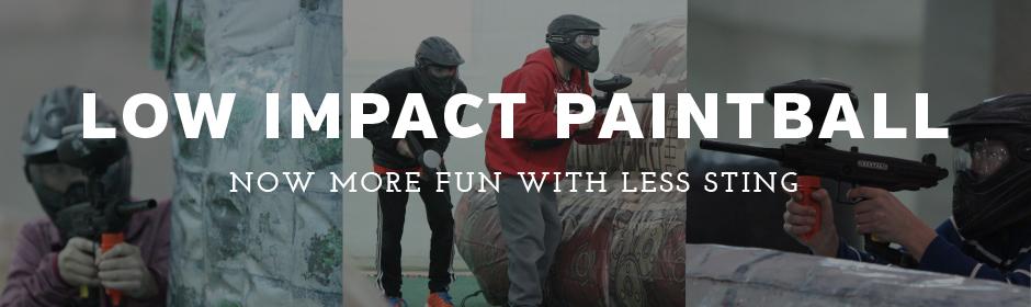 Low impact paintballs